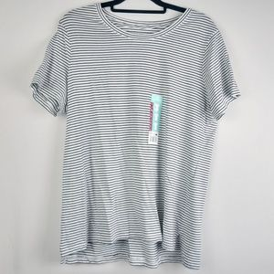 Eddie Bauer New with Tags Striped Tee Size XL